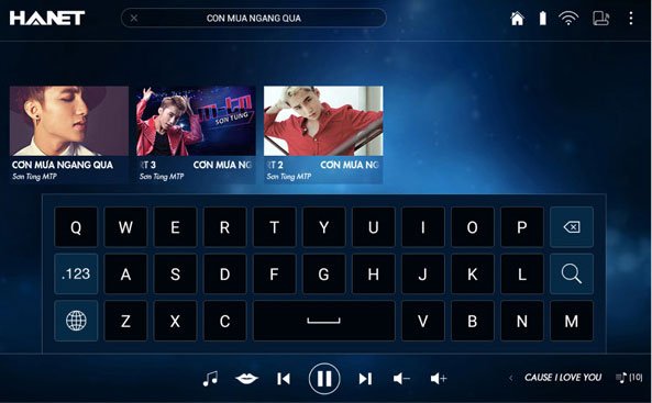Hướng dẫn sử dụng chức năng karaoke