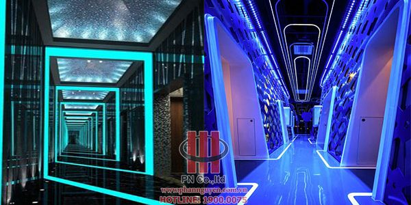 The design of the karaoke hall.