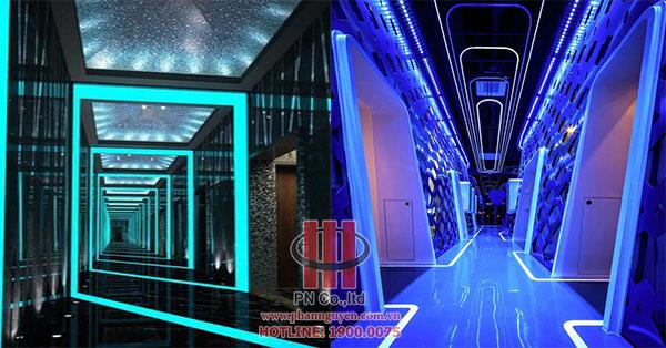 Thiết kế hành lang karaoke chuyên nghiệp, đẳng cấp
