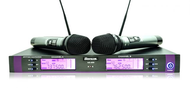 Wireless Karaoke Microphone Bonus MB-6000