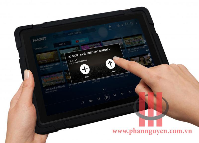Tìm kiếm bài hát trên Youtbe của Hanet Smartlist