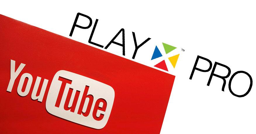 Tính năng hát karaoke Youtube trên đầu Hanet PlayX Pro