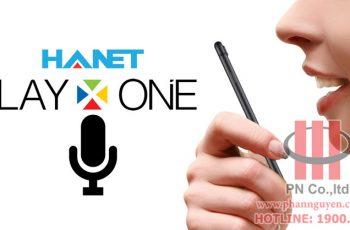 Hanet SmartlistX – Voice Control on Smartphone.