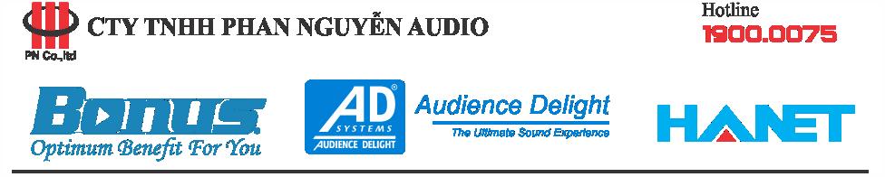 Phan Nguyễn Audio – Giải pháp âm thanh chuyên nghiệp