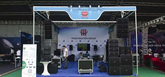 Triễn lãm thiết bị âm thanh biểu diễn chuyên nghiệp Plase Show 2019