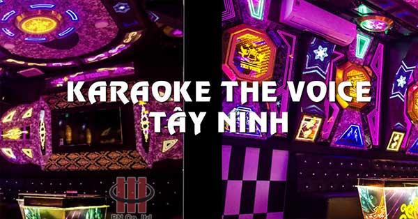 Công trình thi công âm thanh nội thất Karaoke The Voice Tây Ninh