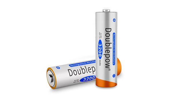 Pin sạc Doublepow 3200mAh dung lượng cao