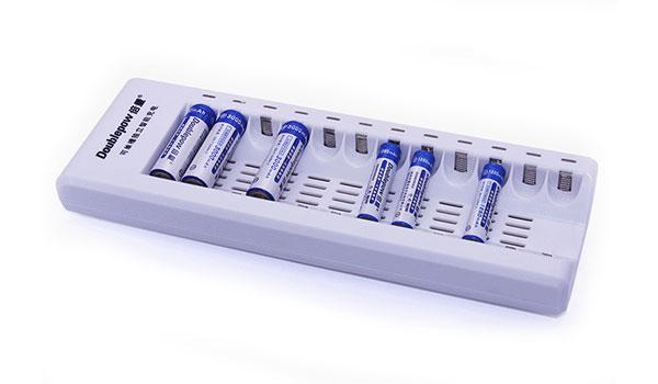 Bộ sạc pin thông minh doublepow dp-k12 tự ngắt khi sạc đầy