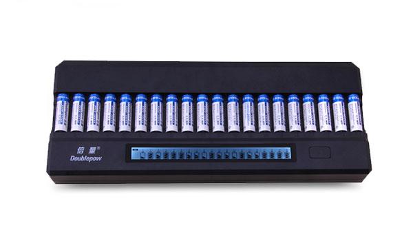 Bộ sạc pin thông minh 20 viên Doublepowm DP-K20 tiện dụng